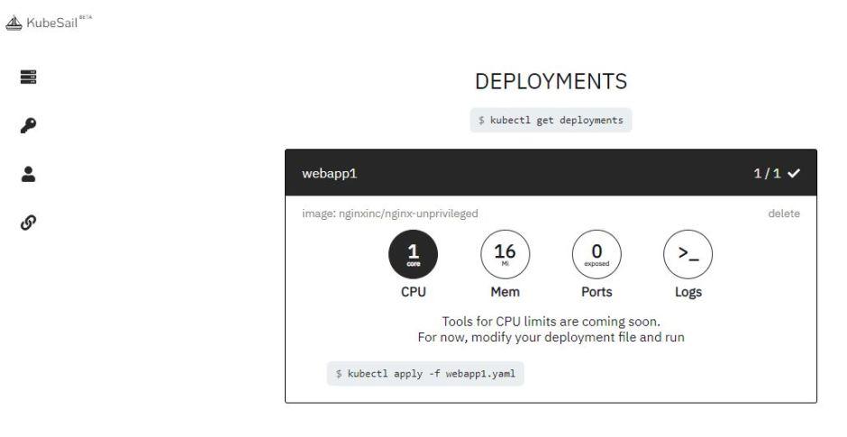 KubeSail Deployments