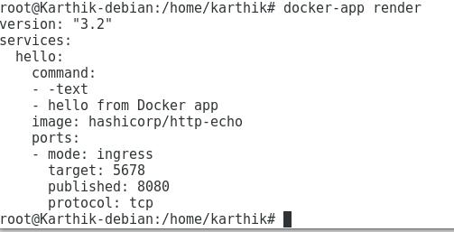 Render Docker App