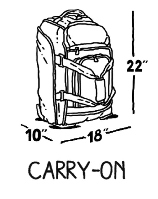 Spirit Airlines Baggage Fees Guide: (Carry-On, Checked