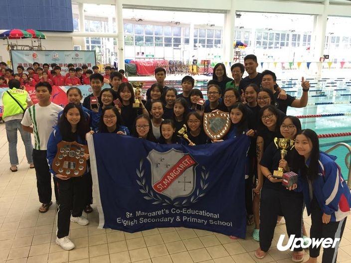 【學界D3游水】新泳池建好成獲勝契機 聖瑪加利女隊升班 | UPower