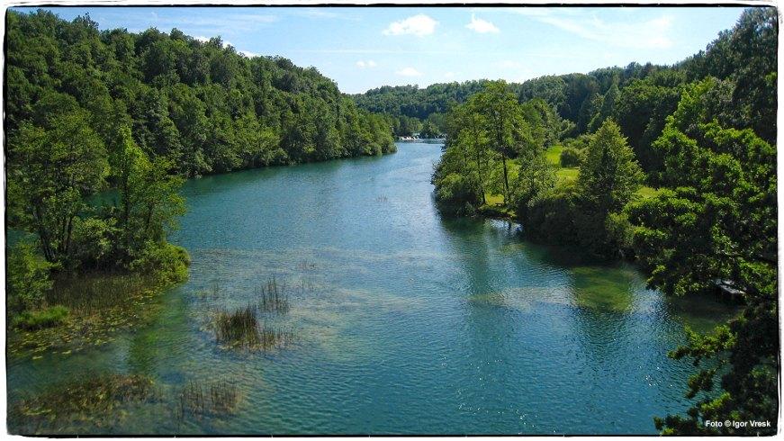 Tok rijeke Mrežnice