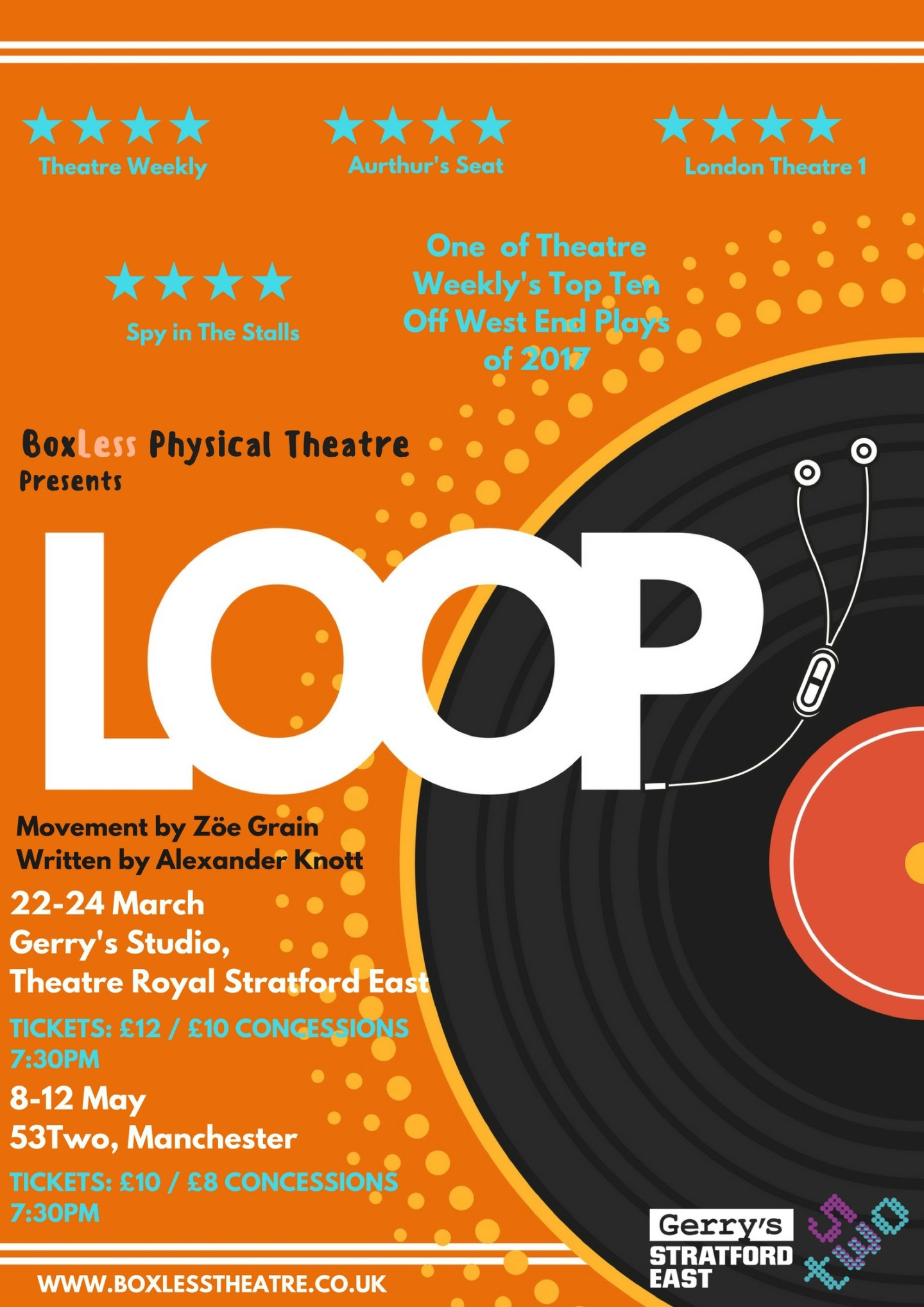 Review: ★★★★ Loop, Theatre Royal Stratford East