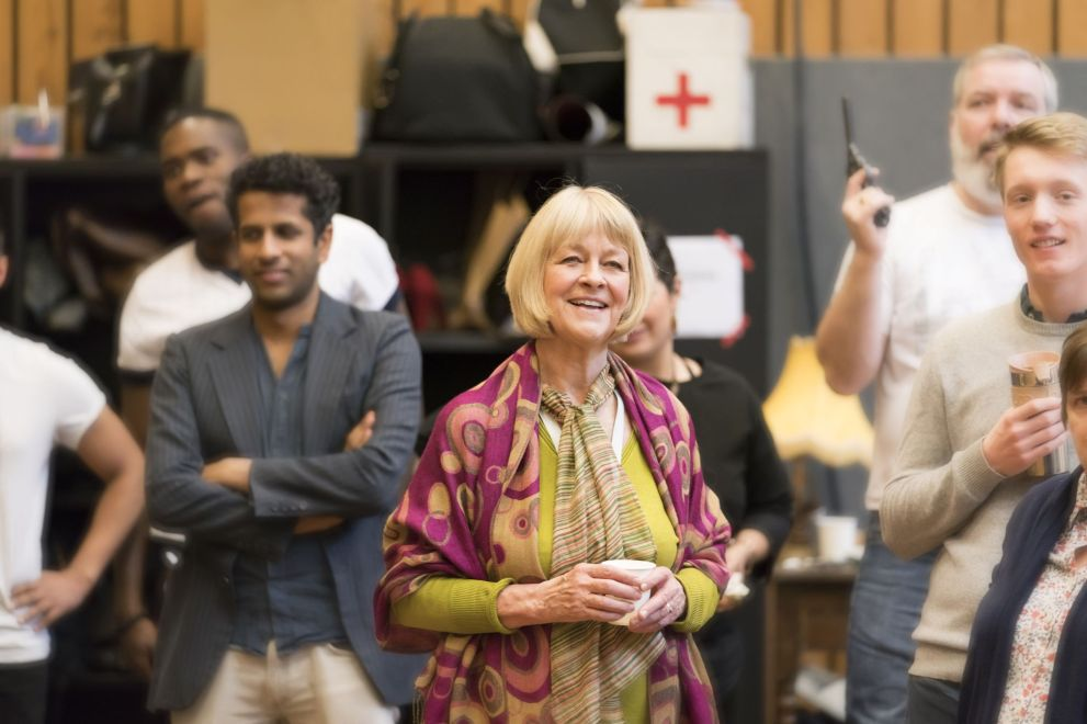 14. Carole Dance in rehearsal for Absolute Hell (c) Johan Persson