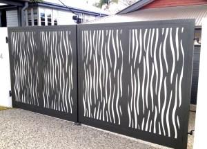 Aluminium Lasercut Gates