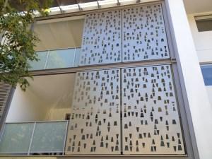 Aluminium Lasercut Screen South Brisbane