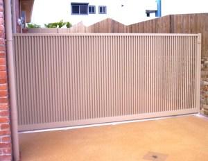 Aluminium Security Swing Gate