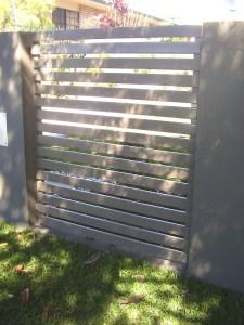 Aluminium Slat Fence Brisbane South