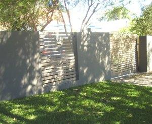 Aluminium Slat Fence Brisbane
