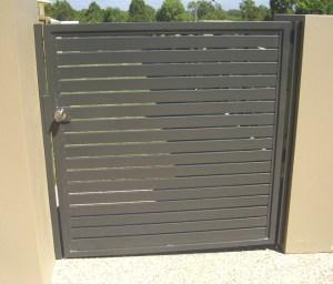 Aluminium Slat Gate Brisbane