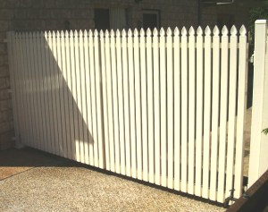 Aluminium double gates