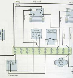 electrical installationfull central heating wiring diagram using 2x2 port zone valves [ 1000 x 906 Pixel ]