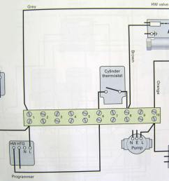 wiring diagram hot water only two port motorised valve hot water  [ 1000 x 865 Pixel ]