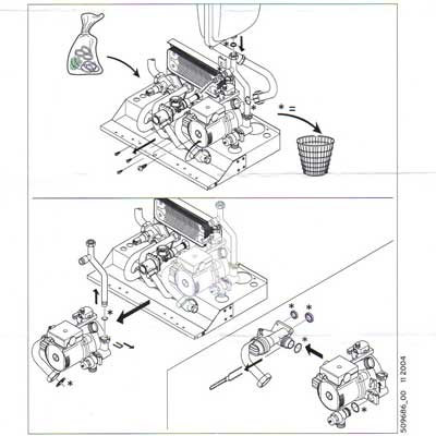 Boiler Parts: Vaillant Boiler Parts Diagram