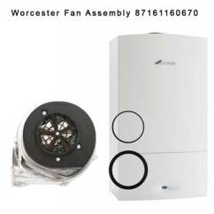 Worcester Greenstar Ri Wiring Diagram For Double Switch 24i Junior Faulty Fan Assembly 87161160670