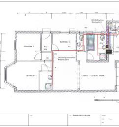 hot water supply service plan [ 1436 x 1023 Pixel ]