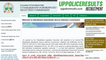 UKSSC Recruitment for the various Post of ARO,Accountant,cashier and other post