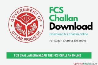 fcs challan online download