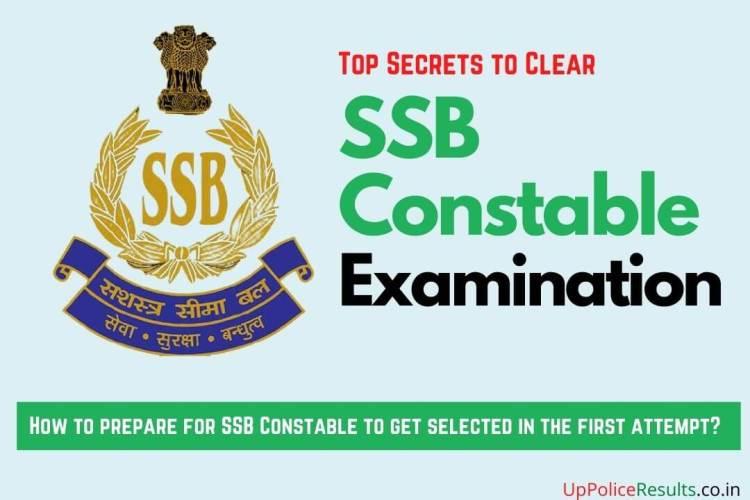 ssb constable examination