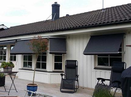 Java fönstermarkis - Java är en fallarmsmarkis för fönster