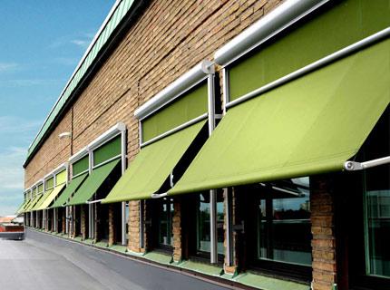 Medina fönstermarkis - Medina är en vertikalmarkis för fönster