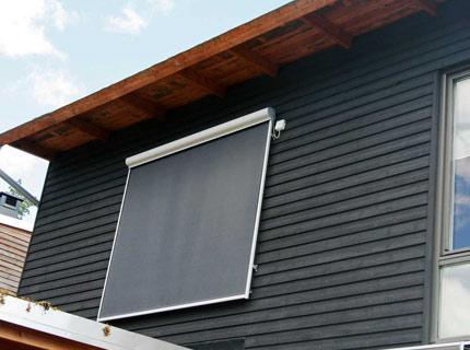 Sombra fönstermarkis - Sombra är en screenmarkis för fönster