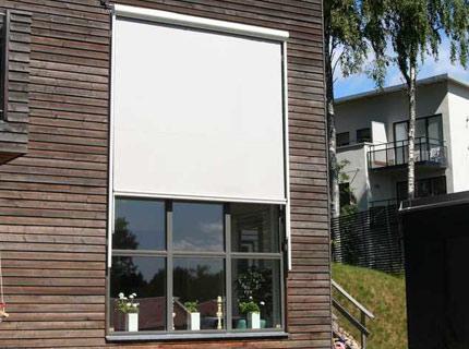 Brava screenmarkis - Vertikalmarkis för fönster