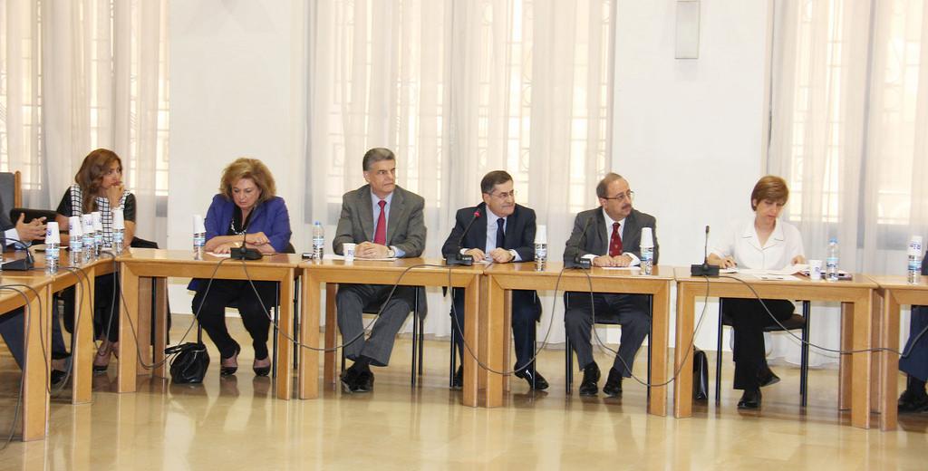 لجنة حقوق الانسان تابعت مناقشة مسودة تقرير الدولة في إطار الاستعراض الدوري الشامل لحقوق الانسان