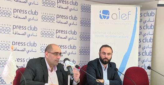 منظمة الف – تحرك من أجل حقوق الإنسان تطلق التقرير السنوي عن لبنان في 2018