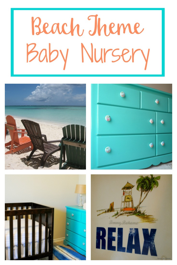 Beach Theme Baby Nursery SurfInspired  Upright and
