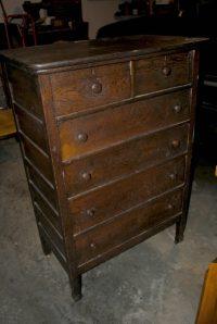 Antique Dresser Makeover - Upright and Caffeinated