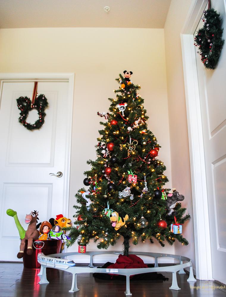 Disney Christmas Tree Decorations Upright And Caffeinated