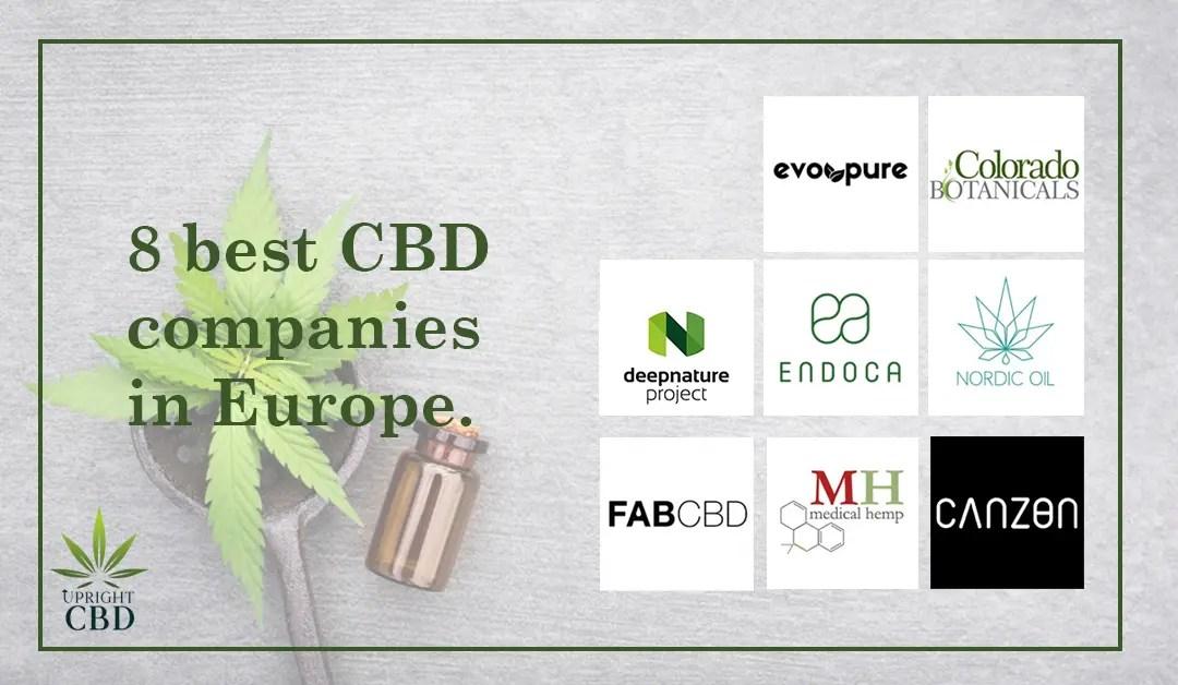 8 best CBD companies in Europe.