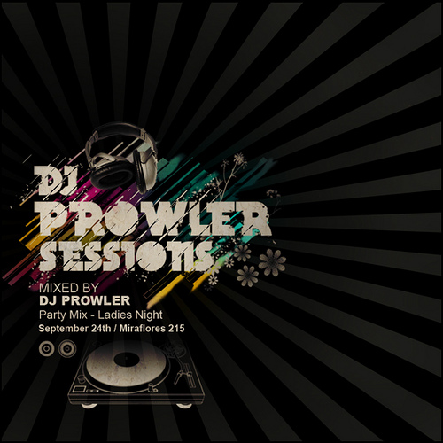 Night Club Flyer - Prowler Sessions