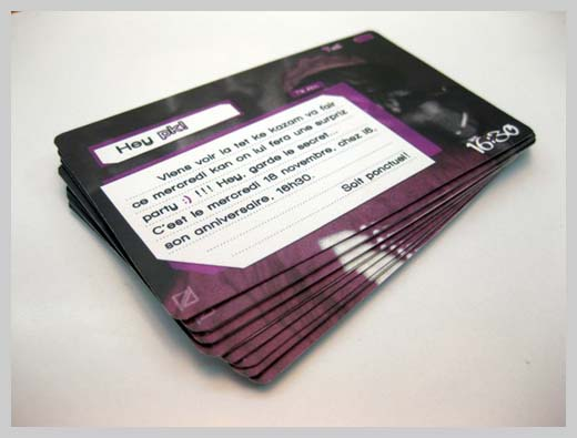 Sample Party Invitations - Surprise Party