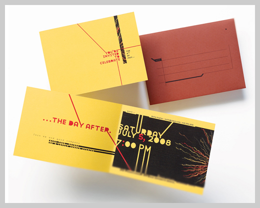 Sample Party Invitations - July 5th