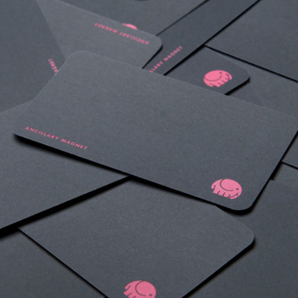 Custom Shaped Business Cards - Ancillary Magnet