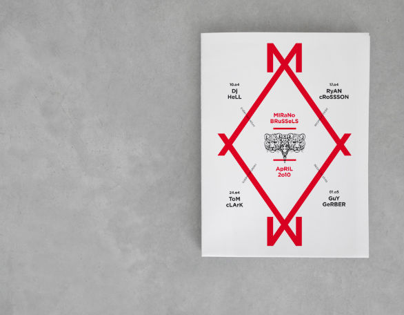 Event Brochure Design Examples - Mirano Brussels