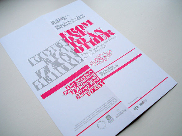 Event Brochure Design Examples -  Interval