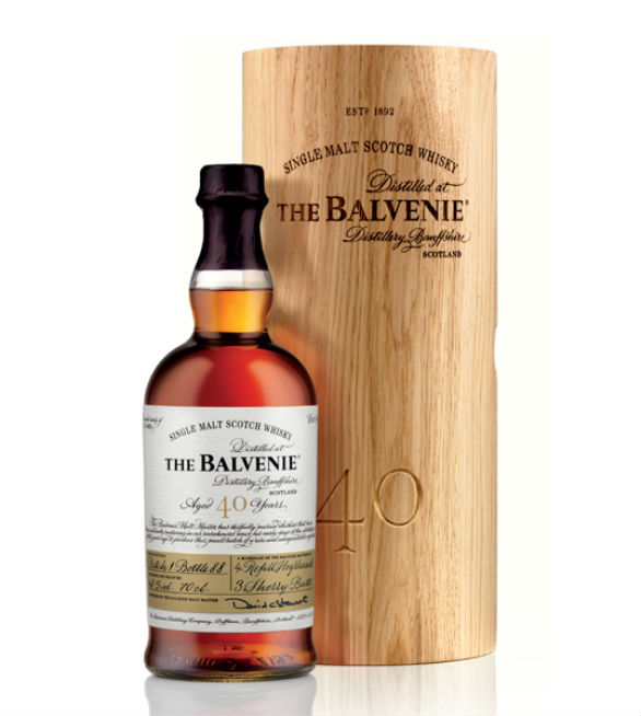 Product Label Design - The Balvenie Forty