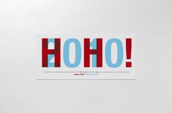 Holiday Card Ideas - Hoho