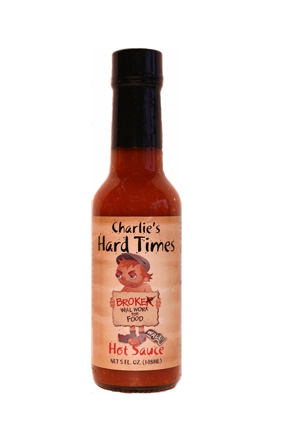 Hot Sauce Labels - charlie's hard times