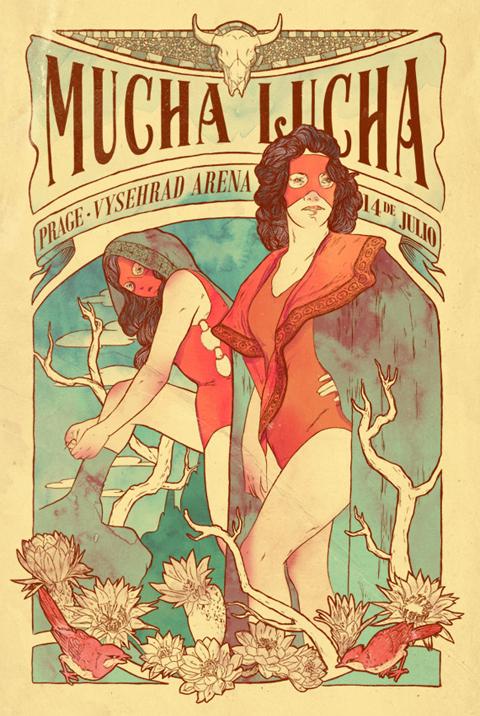 Art Nouveau Poster - homage