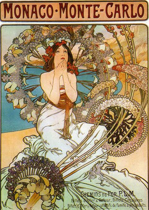 Art Nouveau Poster - mucha2