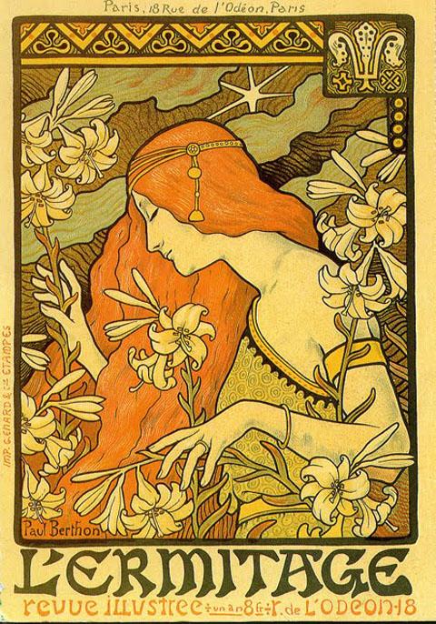 Art Nouveau Poster - Berthon