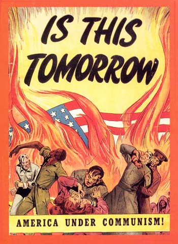 Vintage Home Front Posters - Commie Victory