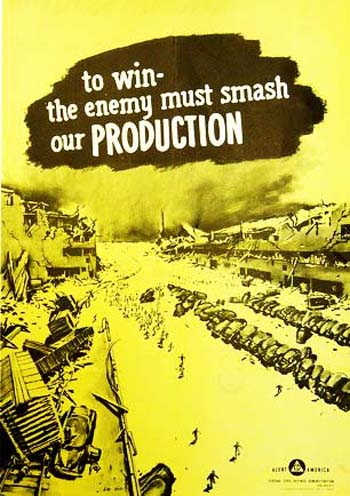 Vintage Home Front Posters - Production