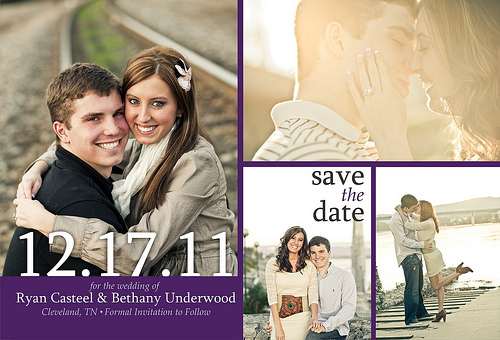 photo montage save the date