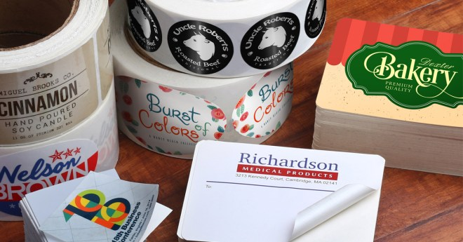 roll and sheet stickers