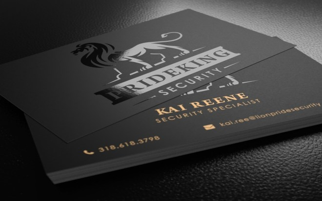 Spot UV Business Cards