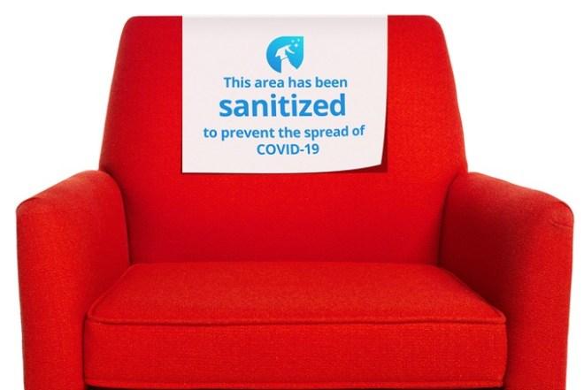 COVID-19 Clean Chair